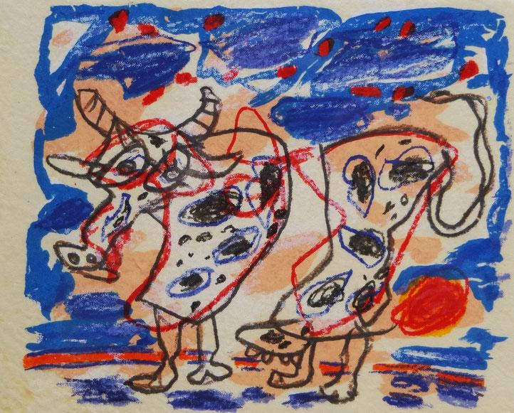 te_koop_aangeboden_een_zeefdruk_van_de_nederlandse_kunstenaar_kees_salentijn_1947