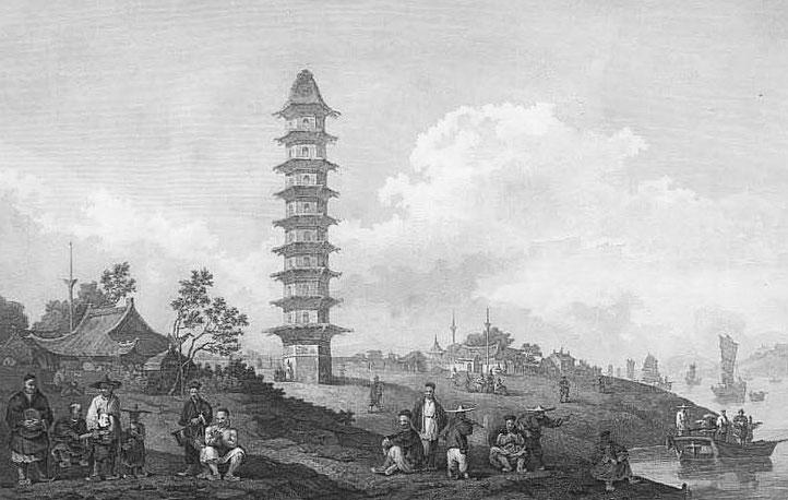 Lin-Sin-Chou, sur les rives du Grand canal.