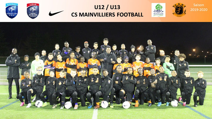 U12 CS Mainvilliers Football