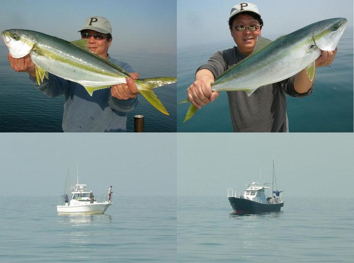「FALCON」&「LUSTER」たくさん釣ってました!