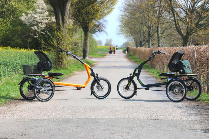 Easy Rider 2 neben Easy Rider 3 von Van Raam