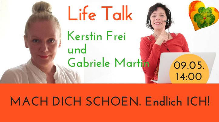 Mach Dich schön, Online Beauty Kurs für die reife Haut, Gabriele Martin und Kerstin Frei im Life Talk