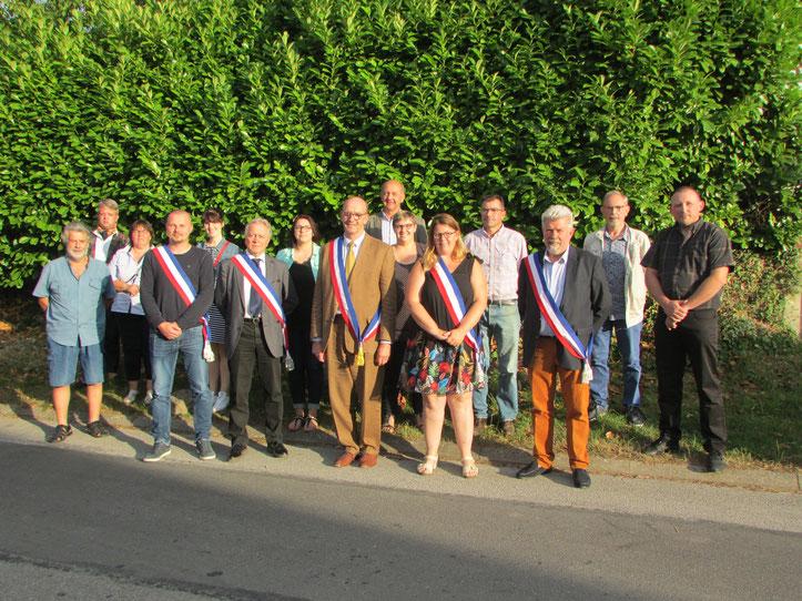 Conseil Municipal de Monchy-Lagache, mandat 2014/2019