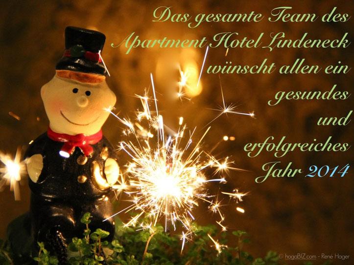 EIN FROHES NEUES JAHR 2014 - apartment-hotel-lindeneck.de