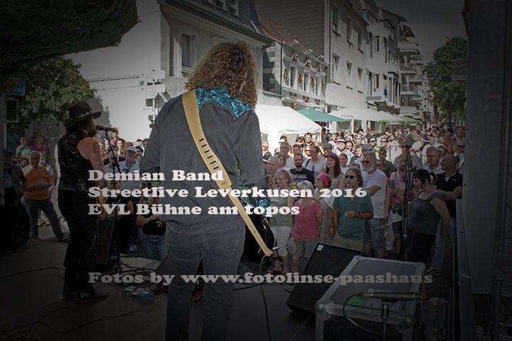 Street Live Leverkusen 2016 Fotos alle Band's