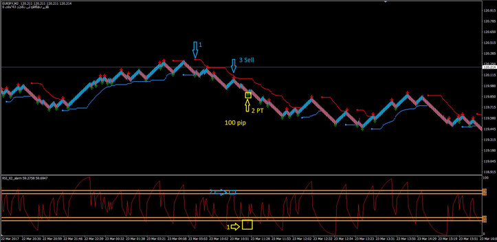 Renko chart 350+ pips a day