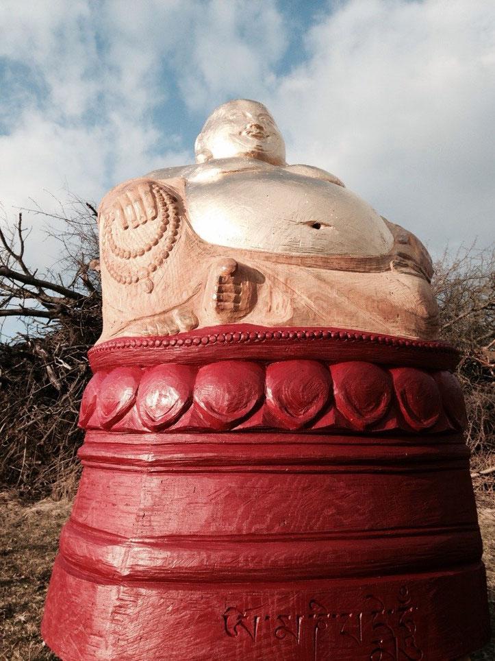 Golden Buddha für Bienen