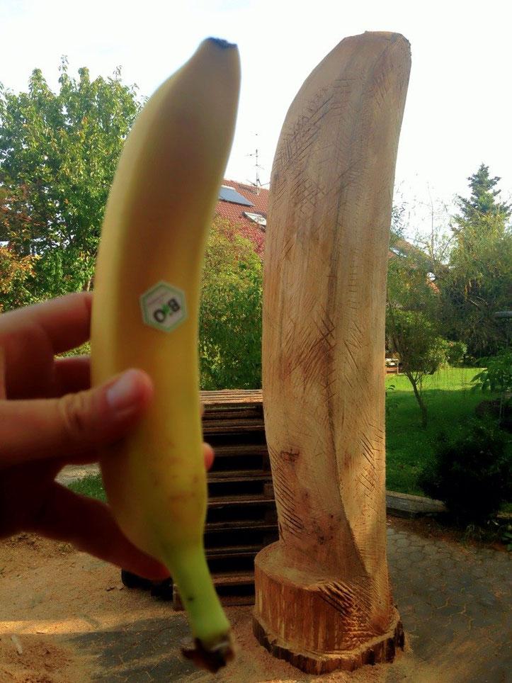 Bienen-Banane