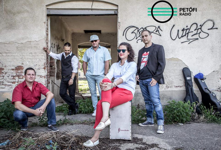 Band Másik Oldal, Hungary mit CajonStudio XL Cajon