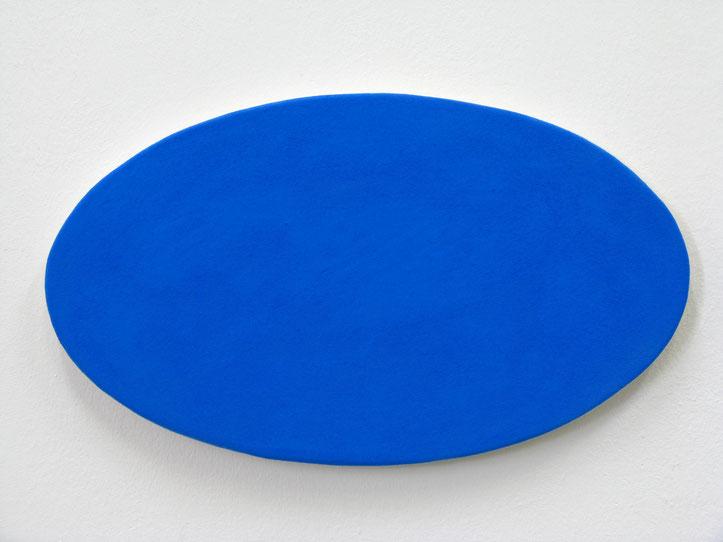 Z.T. 20x12,6 cm pigment op doek wandobject 2006