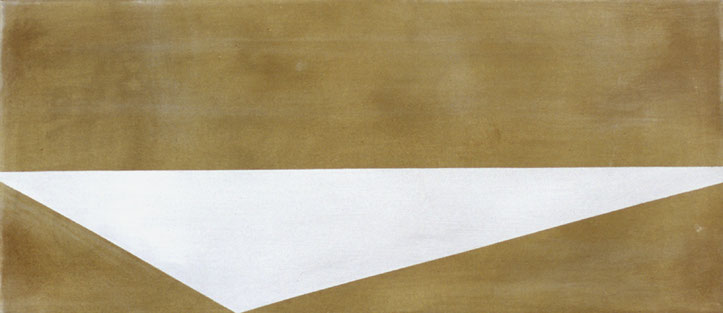 Zonder titel 24x55cm acryl op doek 2006