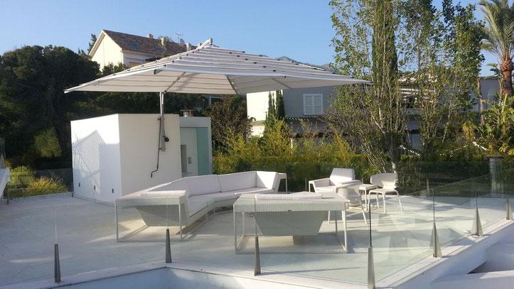 Sonnenschirme & Co - Ampelschirm - Gartenschirm - Massanfertigung - Wandschirm