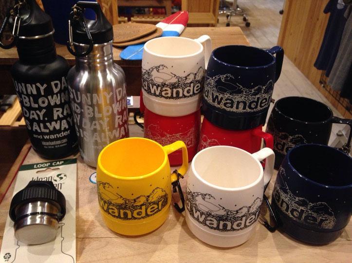 and wander(アンドワンダー)DINEX&Kanteen DINEX ¥1,620 Kanteen ¥4,860