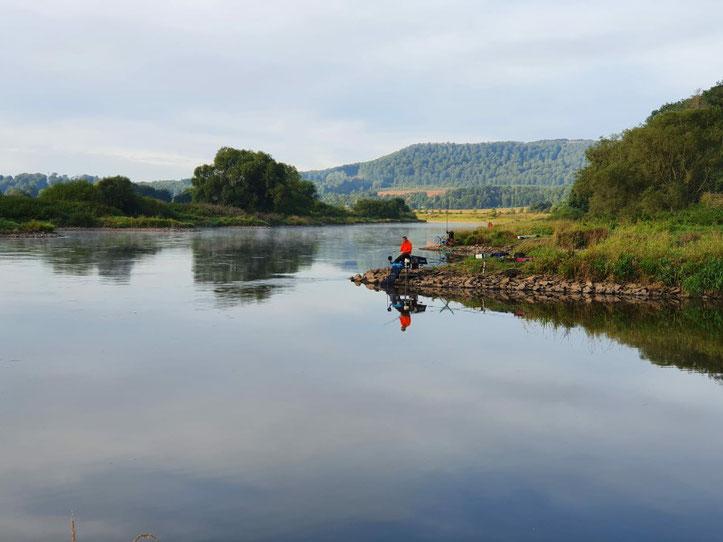 Wochenendausflug an die Weser in Beverungen