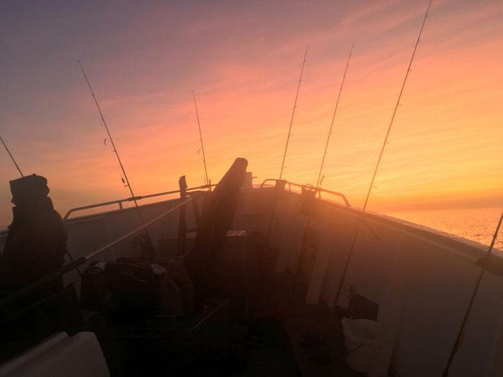 Morgenstimmung auf der Ostsee