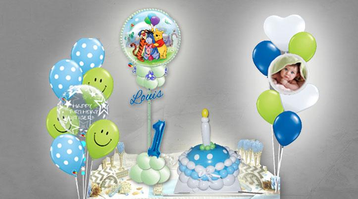 Ballon Luftballon Folienballon Heliumballon Versand Mädchen Junge 1 Geburtstag Fotoballon Bouquet Zahl Name personalisiert Geschenk Deko Dekoration Mitbringsel Überraschung Smiley Torte