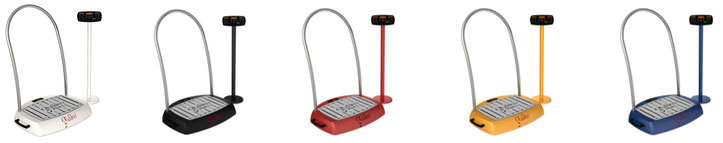Farbvariationen - Galileo Vibrationsplatte Med L Sensor