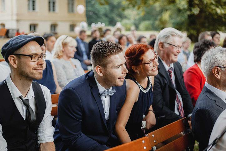 Hochzeitsgäste Schloss Steinhöfel