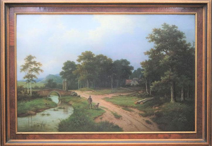 te_koop_schilderij_van_pieter_hendrik_koekkoek_1843-1927