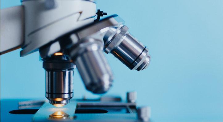 Analyse, Microskop, Ermitteln