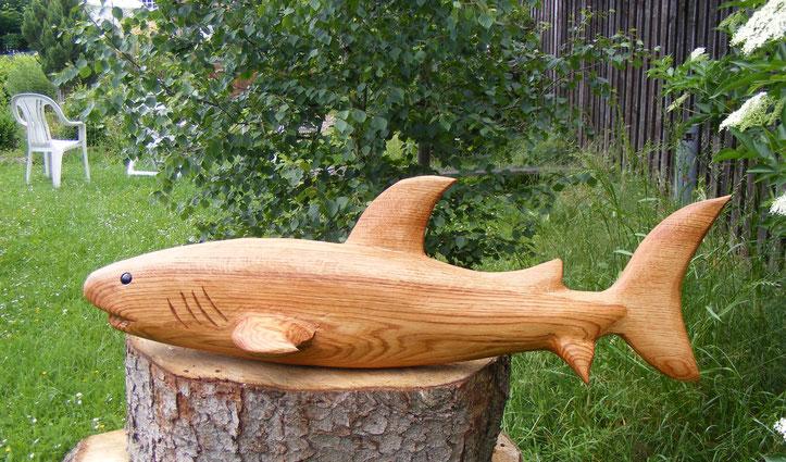 Hai aus Eiche 100cm