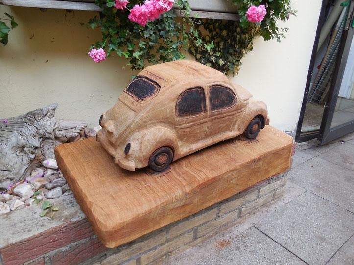VW Käfer aus Eiche