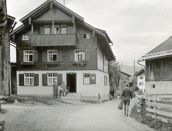 Haus Sehrwind im Jahre 1930
