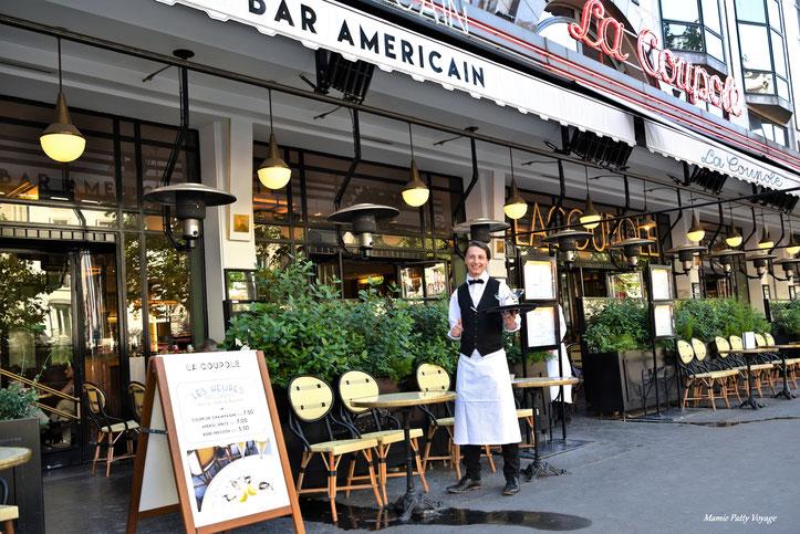 Brasserie La Coupole, Montparnasse, Paris