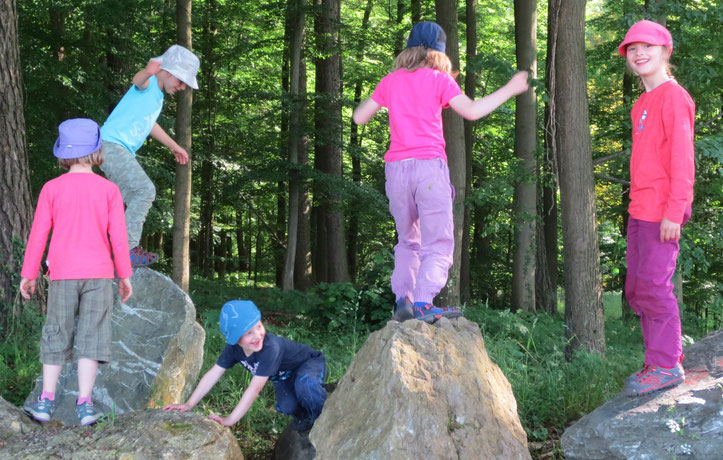 """Auf den """"Berggipfeln"""" des Frankenwalds."""