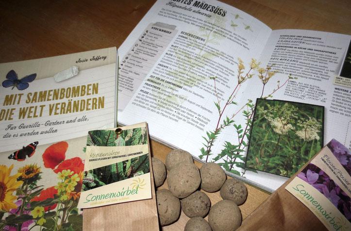 Die Samen des Echten Mädesüß sind gut für Samenbomben geeignet.