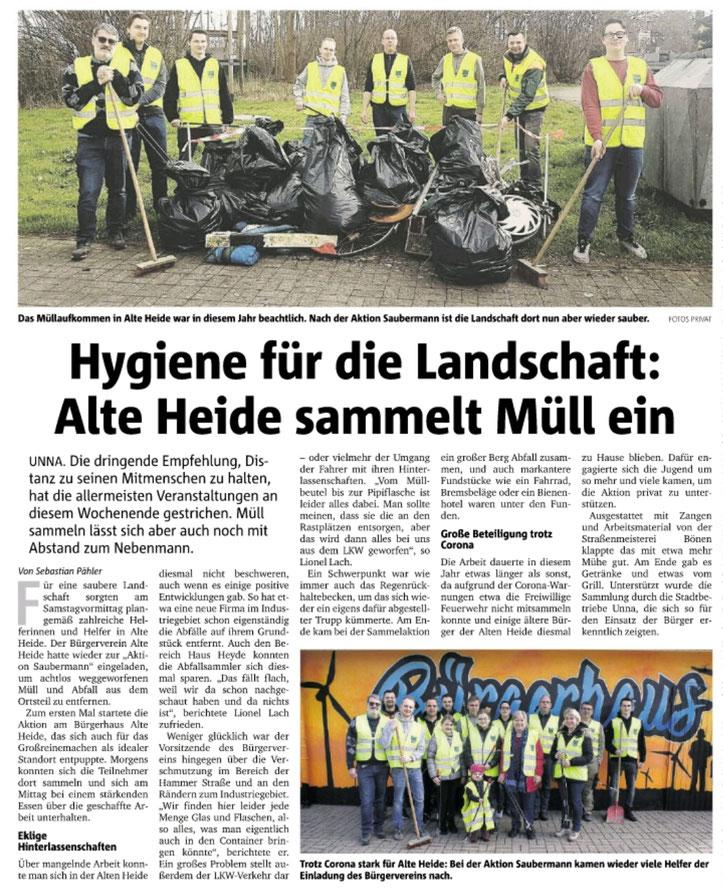Hellweger Anzeiger vom 16.03.2020