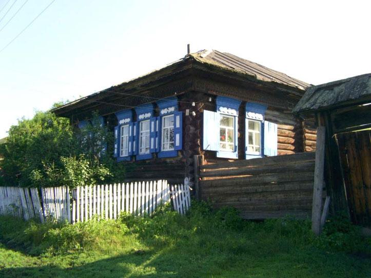 Родительский Дом (Берсенёва Р.А. и Берсенёвой М.Т.) с. Екатериновка 2011 г.