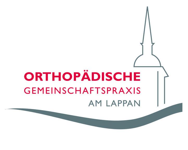 Logo Entwicklung und Corporate Design der Orthopädischen Gemeinschaftspraxis am Lappen.