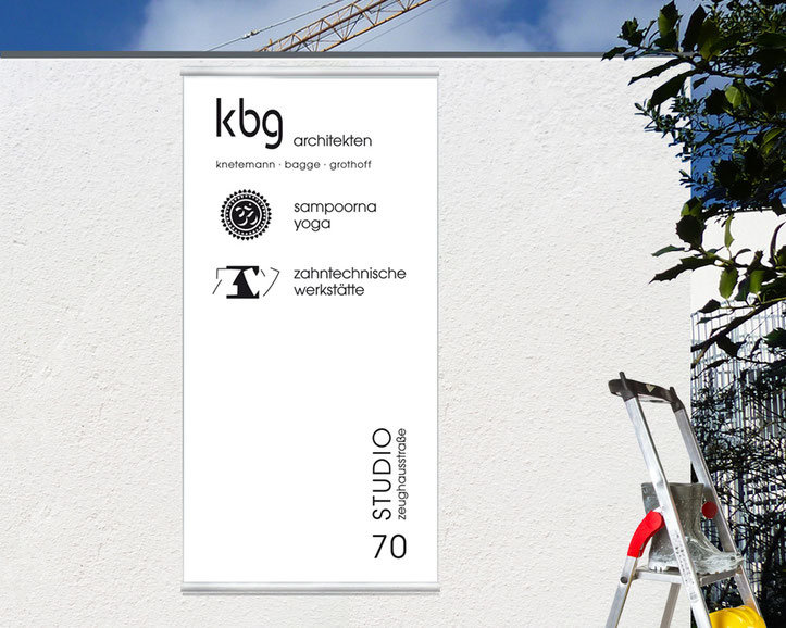 kbg architekten, Sampoorna-Yoga-Zentrum und Zahntechnische Werkstätten unter einem Dach.