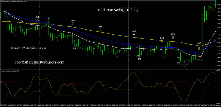 Moderate Swing Trading