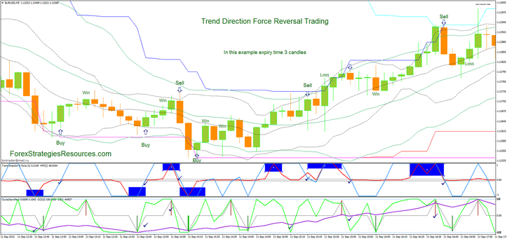 Trend Direction Force Reversal Trading