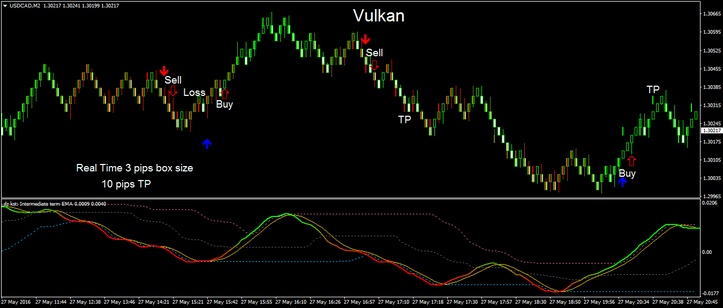 Vulkan Profit real Time with renko chart