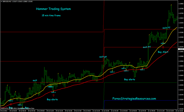 Hammer forex strategy