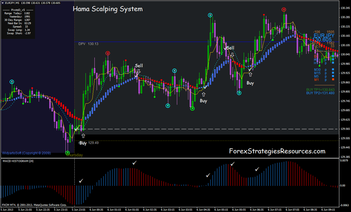 Hama Scalping System
