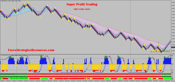 Super Profit Trading with renko chart