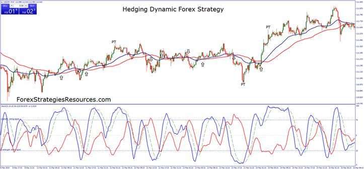 Dynamic hedging forex