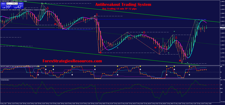 Antibreakout Trading System  Day Trading