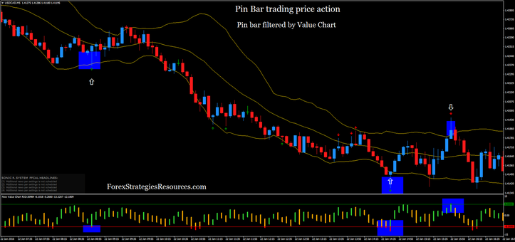 Pin Bar trading price action