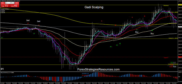 gadi scalping in action on the Gold.