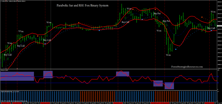 Parabolic Sar and RSI: Fox Binary System