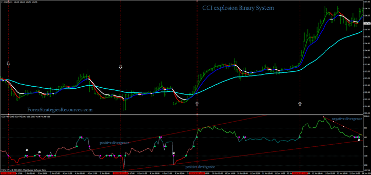 CCI explosion Binary System