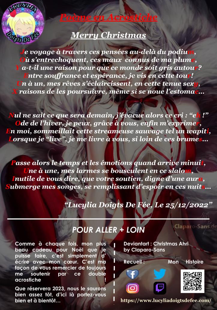Poème Un Prochain Voyage écrit par Lucylia Doigts De Fée, recueil Mon Histoire pour L'univers de Lucylia, arrière plan,  photographie de moi