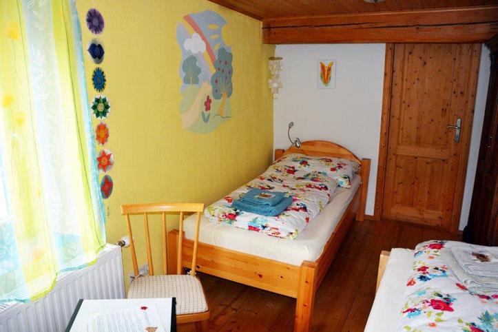 Doppelzimmer Wohlfühlraum Gauguschmühle