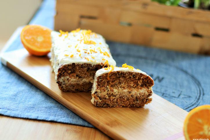Karottenkuchen Oligarto Rezepte Olivenöl Blogzine