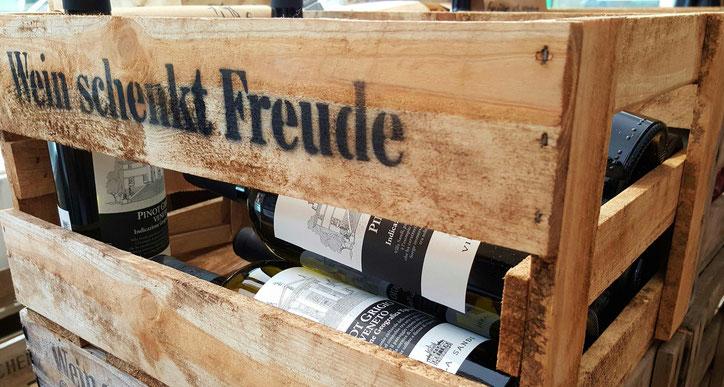 Weinkiste mit Pinot Grigio von Villa Sandi